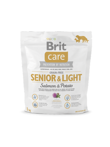Brit Care Grain-free Senior Light Salmon - 1kg