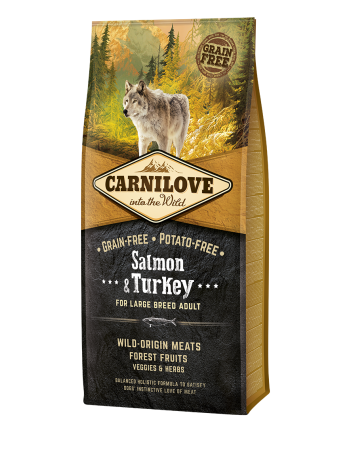 Carnilove Adult Large Salmon & Turkey - 12kg