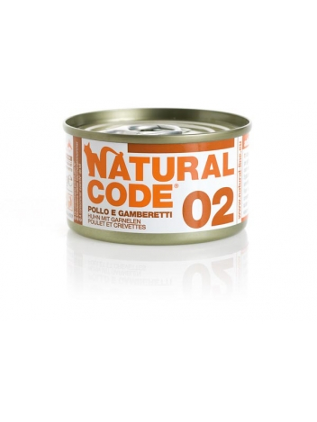 Natural Code Cat 02 Chicken and shrimp 85g