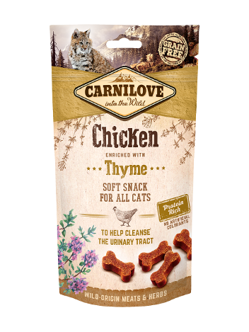 Carnilove Semi-Moist Chicken enriched with thyme 50g