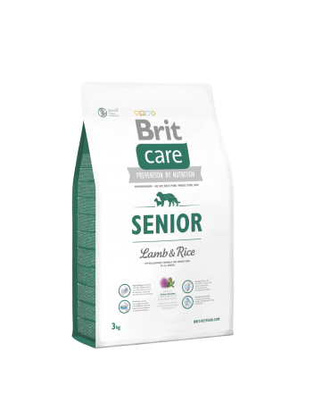 Brit Care Senior Lamb & Rice - 3kg