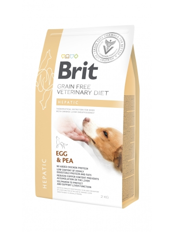 Brit Veterinary Diets Grain Free Hepatic Egg & Pea 2kg