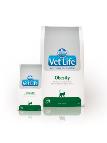 Farmina Vet Life Cat Obesity - 2kg