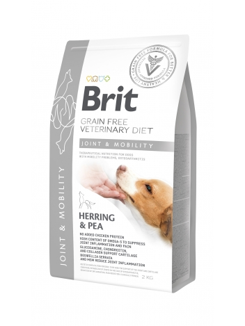 Brit Veterinary Diets Grain Free Joint & Mobility Herring & Pea 2kg