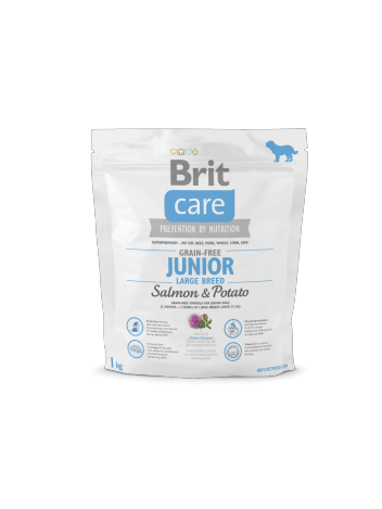 Brit Care Junior Large Breed Salmon & Potato - 1kg
