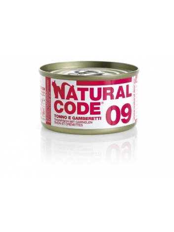 Natural Code Cat 09 Tuna and shrimps 85g
