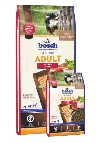 Bosch Adult Lamb & Rice - 15+3kg