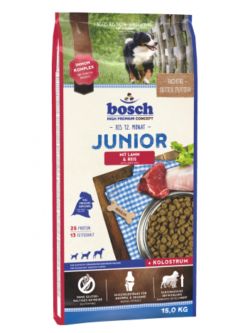 Bosch Junior Lamb & Rice - 15kg