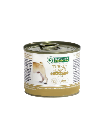 Nature's Protection Adult Light Turkey & Lamb 200g