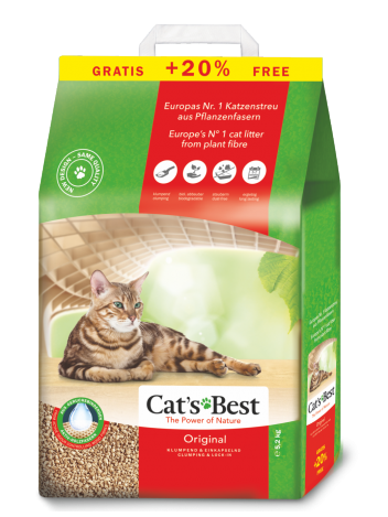 Cat's Best Original - 5,2kg (12l) (10+2l gratis)