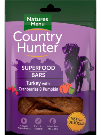 Country Hunter Superfood Bars Turkey 100g