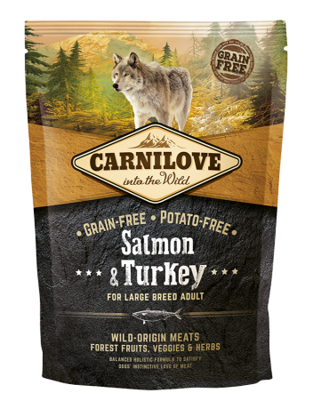 Carnilove Adult Large Salmon & Turkey - 1,5kg