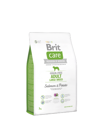 Brit Care Adult Large Breed Salmon & Potato - 3kg