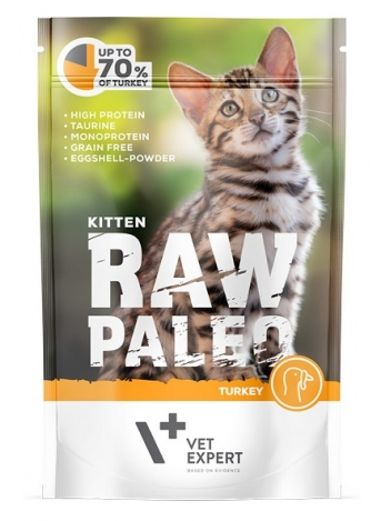 Raw Paleo Kitten Turkey 100g