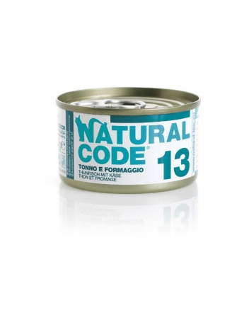 Natural Code Cat 13 Tuna and cheese 85g