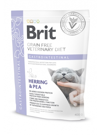 Brit Veterinary Diets Grain Free Gastrointestinal Herring & Pea 400g