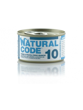 Natural Code Cat 10 Tuna and whitebait 85g