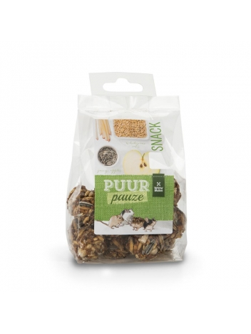 Puur pauze cereal balls with fruit & seed 100g