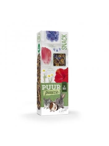 Puur pauze sticks flowers with camomile & cornflower 110g