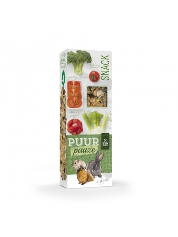 Puur pauze sticks vegetables with broccoli & tomato 110g