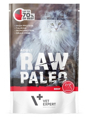 Raw Paleo Cat Adult Beef 100g