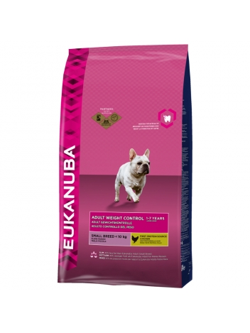 Eukanuba Adult Weight Control Small Breed - 3kg