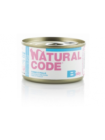 Natural Code Baby Kitten Tuna and Chicken 85g
