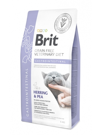 Brit Veterinary Diets Grain Free Gastrointestinal Herring & Pea 5kg