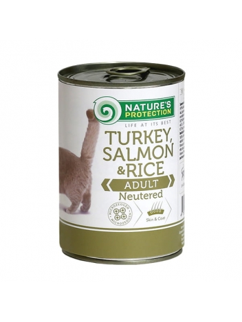 Nature's Protection Adult Cat Neutered 400g