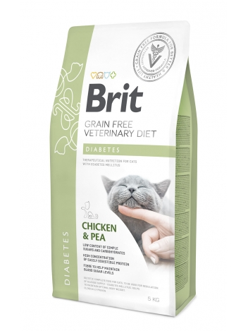 Brit Veterinary Diets Grain Free Diabetes Chicken & Pea 5kg