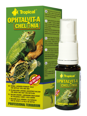 Tropical Ophtalvit-A Chelonia - 15ml