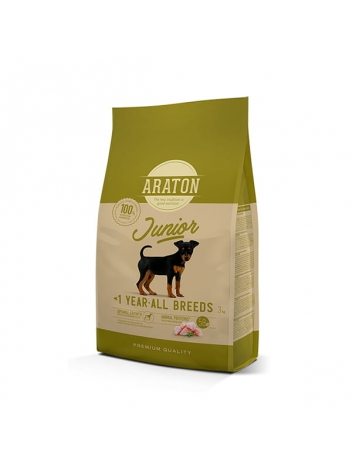 Araton Dog Junior Poultry All Breeds 3kg