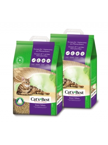 Cat's Best Smart Pellets - 2x10kg (2x20l)