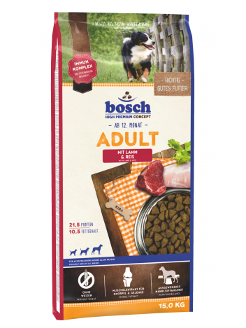 Bosch Adult Lamb & Rice - 15kg