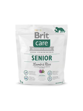 Brit Care Senior Lamb & Rice - 1kg