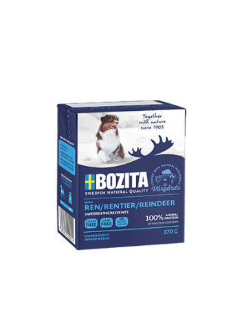 Bozita Reindeer - chunks in jelly 370g