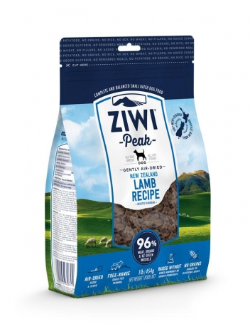 Ziwi Peak Air-Dried Lamb for dogs 1kg