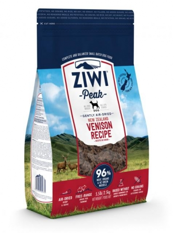 Ziwi Peak Air-Dried Venison for Dogs 2,5kg