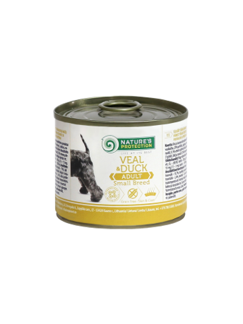 Nature's Protection Adult Small Veal & Duck 200g