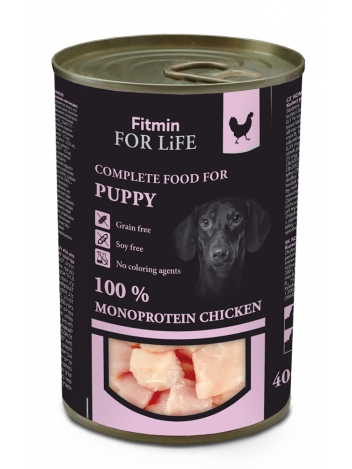 Fitmin For Life Dog Puppy Chicken 400g