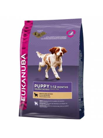 Eukanuba Puppy Lamb & Rice - 12kg