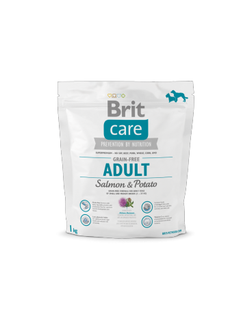 Brit Care Adult Salmon & Potato - 1kg