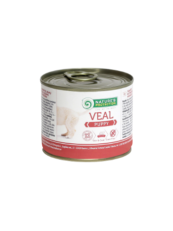 Nature's Protection Puppy Veal 200g