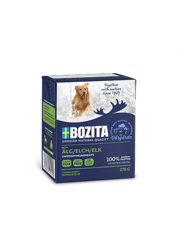 Bozita Elk – chunks in jelly 370g