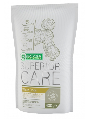 Nature's Protection Superior Care White Small Adult 400g