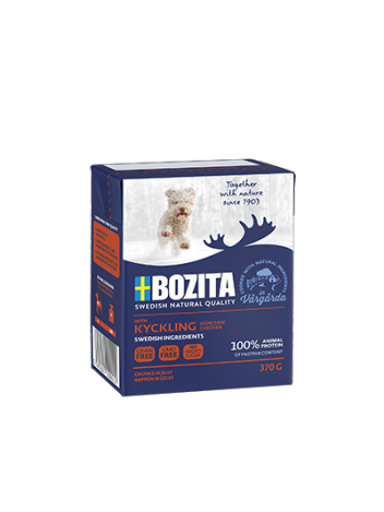 Bozita Chicken – chunks in jelly 370g