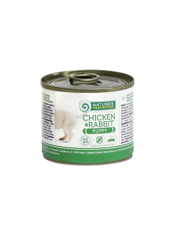 Nature's Protection Puppy Chicken Rabbit 200g