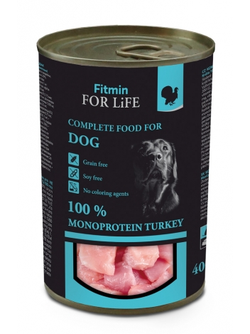 Fitmin For Life Dog Turkey 400g