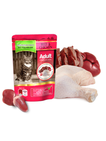 Natures Menu Beef & Chicken 100g