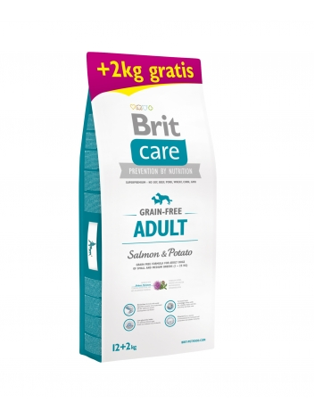 Brit Care Adult Salmon & Potato 12+2kg